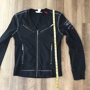 Parasuco Jackets & Coats - PARASUCO Denim Legend sweatshirt NWOT